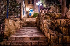 Jaffa gammal stad Royaltyfria Foton