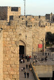 Jaffa Gate in Jerusalem Royalty Free Stock Photography