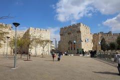 Jaffa Gate in Jerusalem Royalty Free Stock Photography