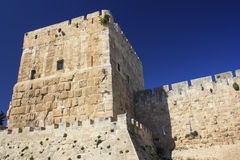 Jaffa Gate Tower Stock Photos