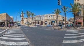 Jaffa Hashaon kwadrat Obrazy Stock
