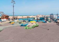 JAFFA - ISRAEL, am 10. April 2017: Alter Jaffa-Hafen, Tel Aviv, Israel Lizenzfreies Stockfoto