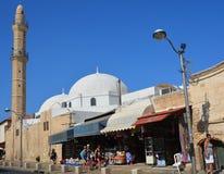 Carpet saler in the Jaffa Flea Market