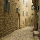 Jaffa israel starej ulicy Obraz Royalty Free