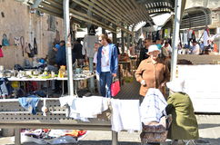 Jaffa loppmarknad Royaltyfri Foto
