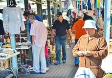 Jaffa loppmarknad Arkivfoton