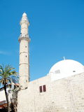 Jaffa the Mahmoudiya Mosque 2011. The Great Mosque Muhamidiya Mosque in old city Jaffa, Israel Royalty Free Stock Image