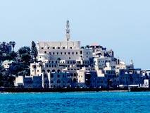 Jaffa miasta †‹â€ ‹nad denny 2012 Obraz Royalty Free