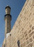 jaffa minaret 2009 Royaltyfri Foto
