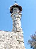 Jaffa minaret of Al-Bahr Mosque March 2012 Royalty Free Stock Photos