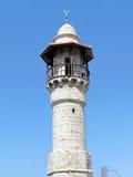 Jaffa the minaret of Al-Bahr Mosque 2012 Royalty Free Stock Image