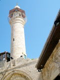 Jaffa minaret 2011. Ancient Minaret of mosque in old city Jaffa, Israel Royalty Free Stock Image