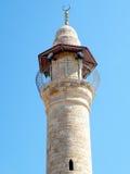 Jaffa minaret en mars 2011 Image stock