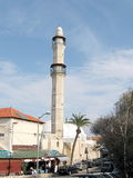 Jaffa minaret of Mahmoudiya Mosque 2009 Stock Photo