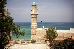 Jaffa moské i Tel Aviv Royaltyfria Bilder