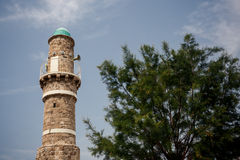 Jaffa Mosque in Tel Aviv Stock Photos