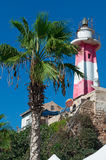 Jaffa, Old City, Israel, Middle East. Jaffa Light, the Jaffa Lighthouse on August 31, 2015. The Jaffa Light, built by French engineers in 1865, is located on a stock photos