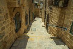 Jaffa old city Royalty Free Stock Photos