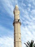 Jaffa Oude minaret van Mahmoudiya-Moskee 2012 Stock Afbeelding