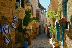 Jaffa Oude Stad Tel. Aviv Israel royalty-vrije stock foto