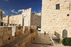 Jaffa port Arkivbild