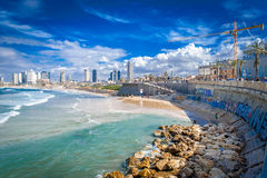 Jaffa port Stock Image