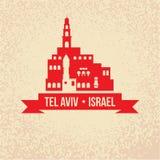 Jaffa Portr - das Symbol von Tel Aviv, Israel lizenzfreie abbildung