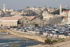 Jaffa's port Royalty Free Stock Image