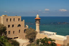 Jaffa's Sea Mosque Stock Photo