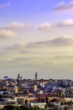 Jaffa skyline at sunset Royalty Free Stock Photo