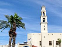 Jaffa St Peter kościół 2012 Obrazy Stock