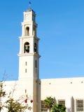 Jaffa St Peter Kościelny wierza 2011 zdjęcia royalty free