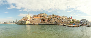 Jaffa with Tel Aviv in the background Stock Image