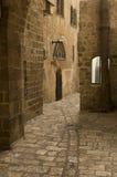 Jaffa, un vicolo nella vecchia città Fotografia Stock Libera da Diritti