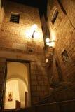 Jaffa viejo en la noche Foto de archivo libre de regalías