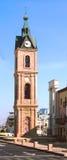 Jaffa viejo - la torre de reloj foto de archivo