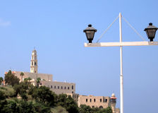 Jaffa view from the quay of Tel Aviv 2007 Royalty Free Stock Photo
