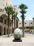 Jaffa Yerushalayim Ave sculpture 2007 Royalty Free Stock Photography