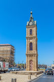 Jaffa zegarowy wierza Zdjęcia Royalty Free