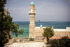 Jaffamoskee in Tel Aviv Royalty-vrije Stock Afbeeldingen