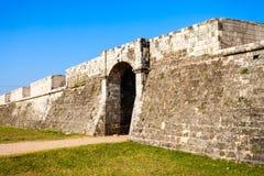 Jaffna Fort, Sri Lanka. Jaffna Fort in Jaffna. Fort was built by the Portuguese in Jaffna, northern Sri Lanka stock photography
