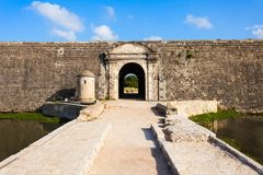 Jaffna Fort, Sri Lanka. Jaffna Fort in Jaffna. Fort was built by the Portuguese in Jaffna, northern Sri Lanka stock photos