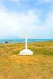Jaffna Point Pedro St Thomas Church Cross Ocean V Stock Photography