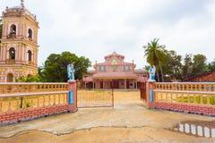 Jaffna Point Pedro St Thomas Church Gate Tower Stock Photography