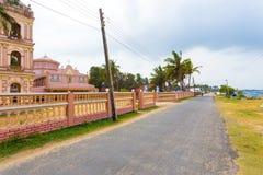 Jaffna Point Pedro St Thomas Church Street Coast Stock Photography