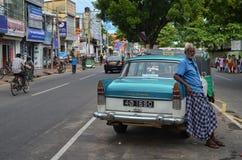 Jaffna-Stadt-Taxi Lizenzfreie Stockbilder