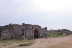 Jaffna stary bastille - zaszycie po wojny Zdjęcia Royalty Free