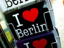 Jag älskar berlin Arkivbilder
