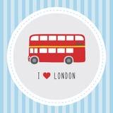 Jag älskar London12 Royaltyfri Foto