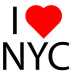Jag älskar NYC Royaltyfri Fotografi